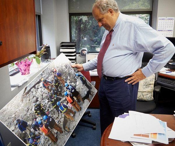 Dr. Benjamin Luft, director and principal investigator of