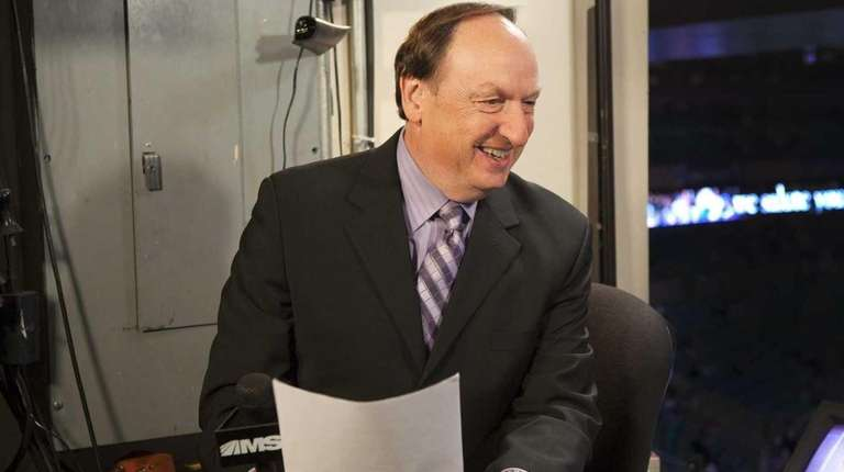 MSG announcer Sam Rosen.
