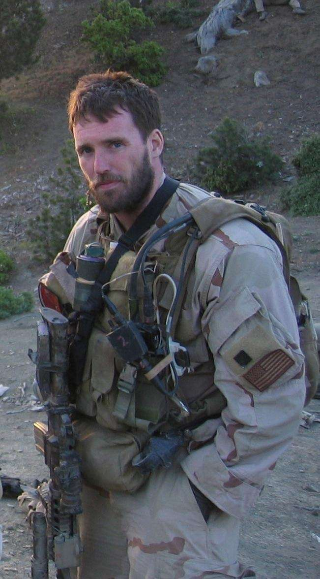 U.S. Navy shows Navy Seal Lt. Michael P.