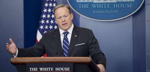 White House press secretary Sean Spicer compared Hitler
