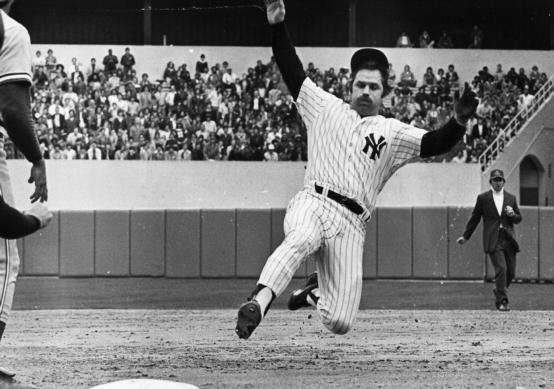 Undated file photo of Thurman Munson.