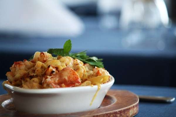 The lobster mac and cheese at 78 Foster