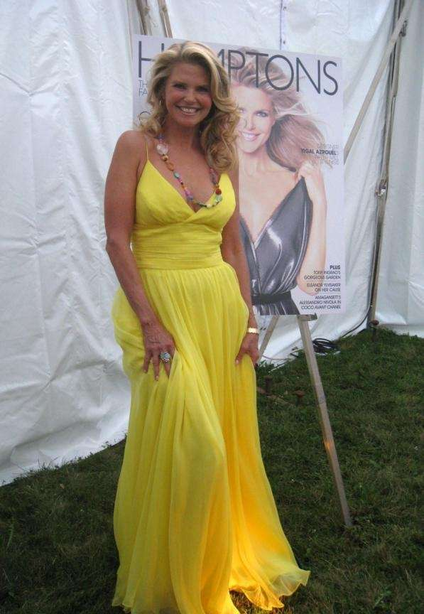 Christie Brinkley served as honorary chair at the