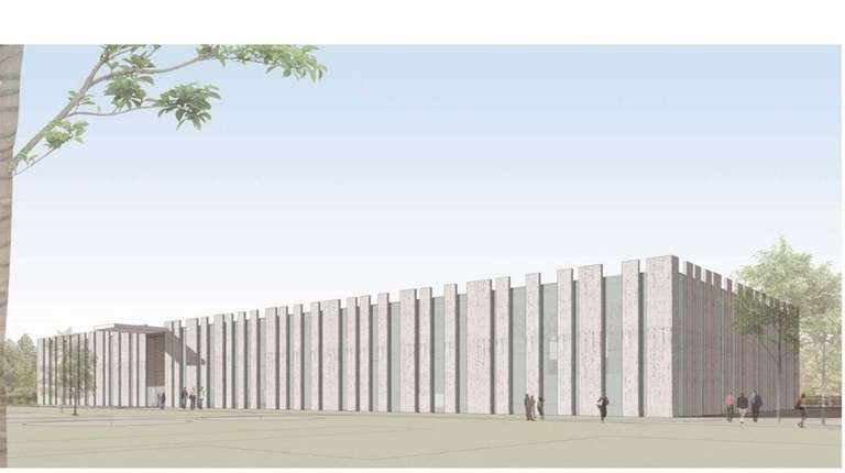A rendering of the planned $21 million new