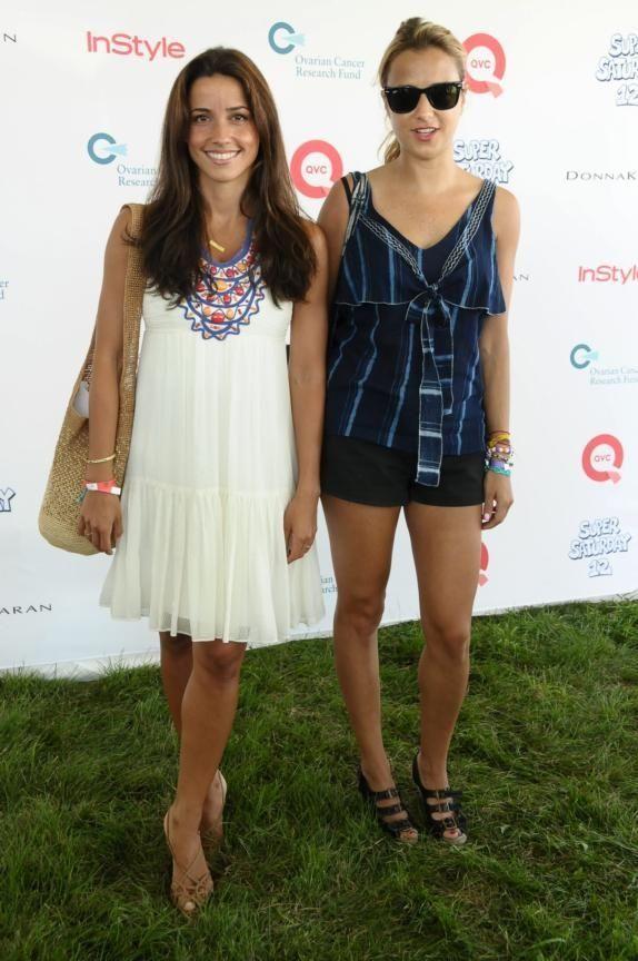 Designers Shoshanna Lonstein, left, and Charlotte Ronson attend