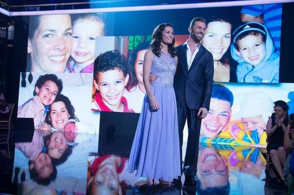 Olympic medalist Nancy Kerrigan appears with her