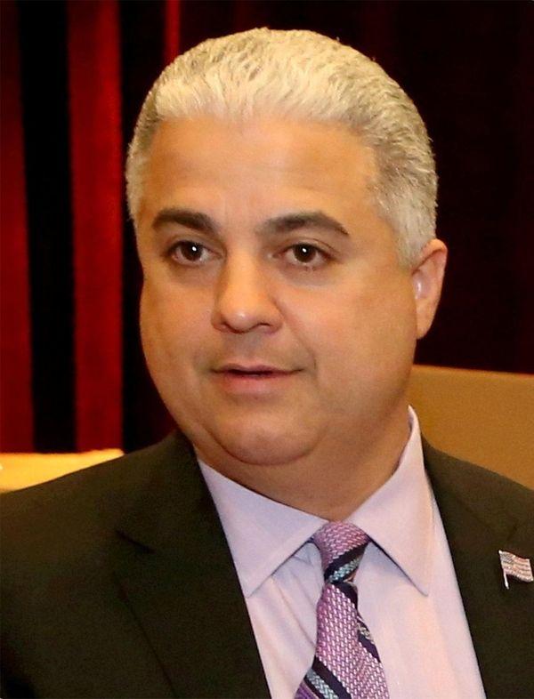 Nassau Sheriff Michael Sposato in Mineola on Monday,