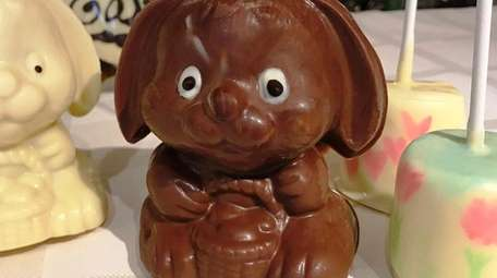 At Yottabyte in Smithtown, chocolate bunnies are made