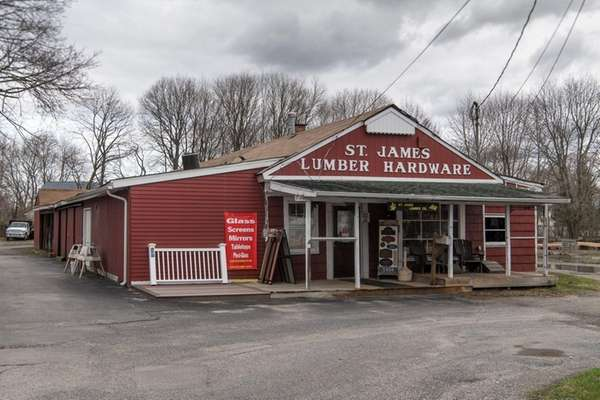 Three possible locations for a St. James library
