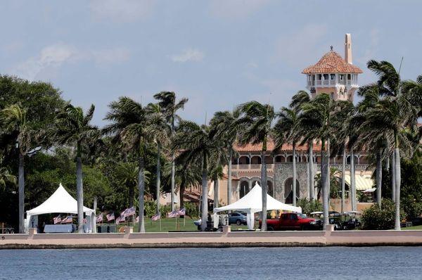 President Donald Trump's Mar-a-Lago resort in Palm Beach,