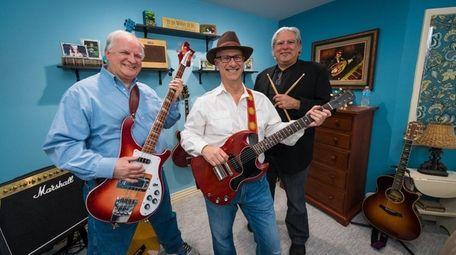 Kevin Holmgren, left, Rick Brindell and Mitch Weithorn