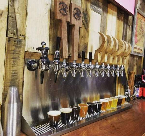 The Brewers Collective in Bay Shore has 12