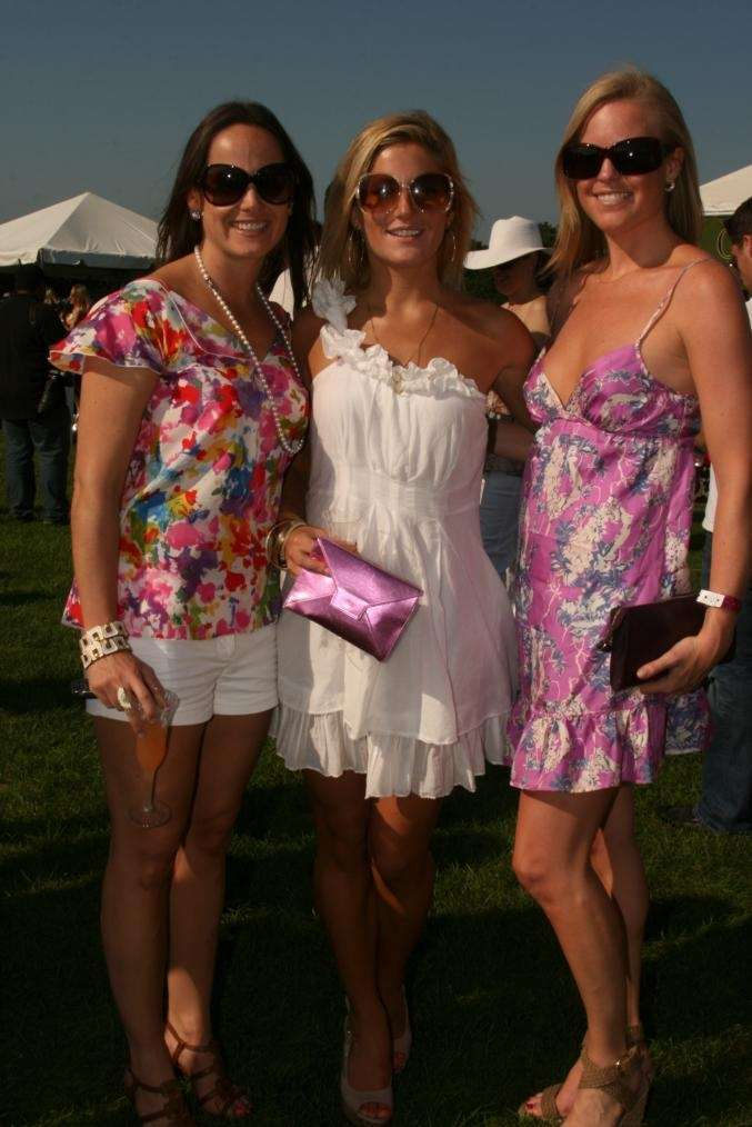 Tamie Thomas, Jules Kirby and Jessica Peters at