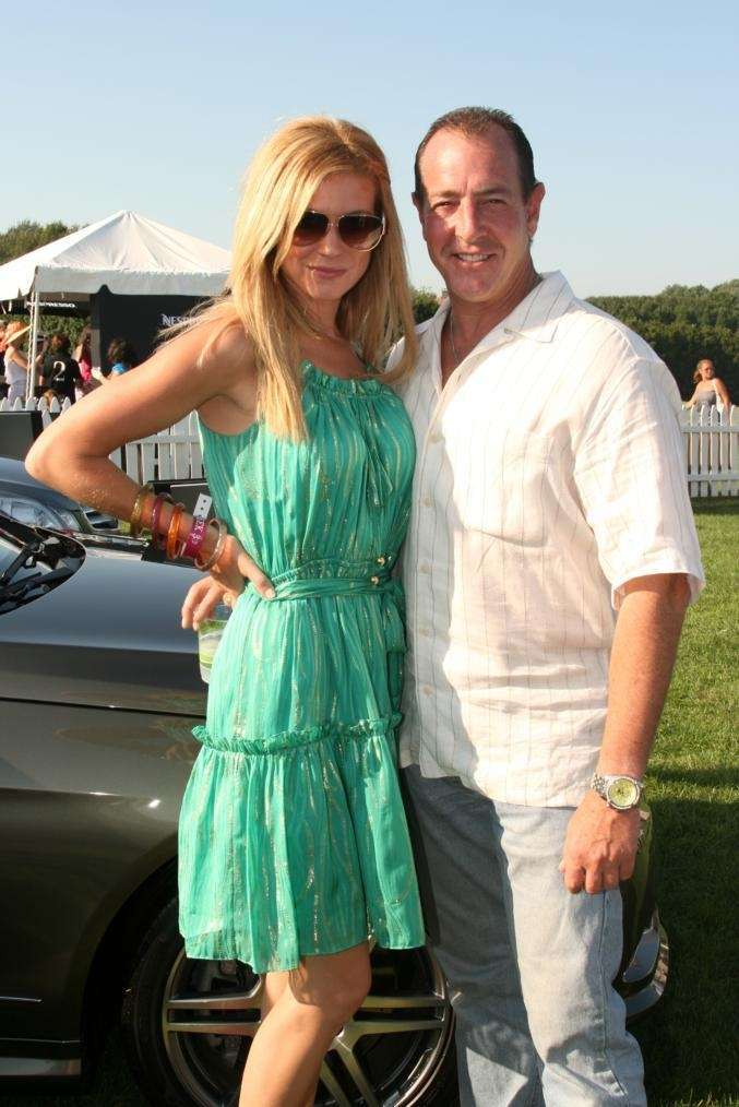 Erin Muller and Michael Lohan at Mercedes Benz