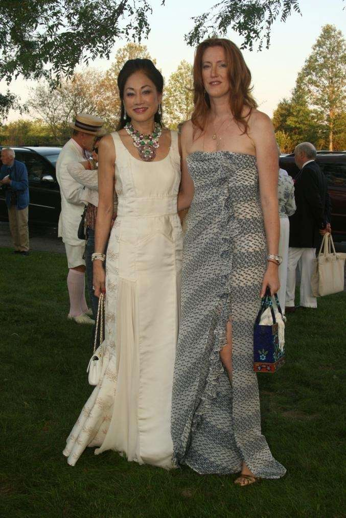 Lucia Hwong Gordon and Andrea Greaven Douzet at