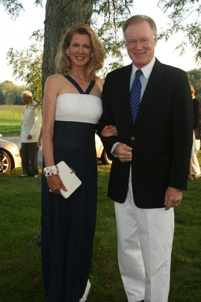 Ellen Scarborough and Chuck Scarborough at the 51