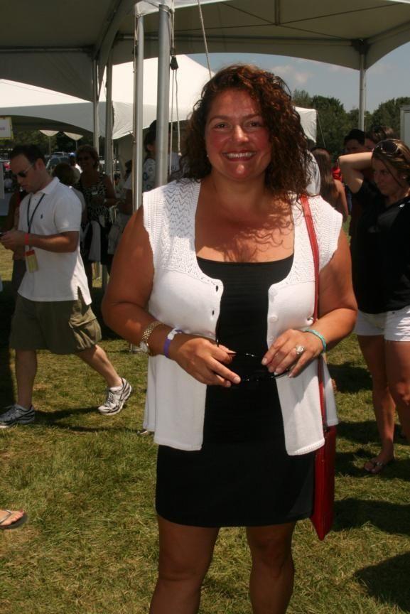 Aida Turturro at Super Saturday 12, the world
