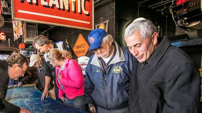 Members of the Long Island Motor Parkway Preservation