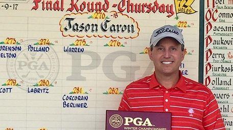 Jason Caron, head pro at Mill River