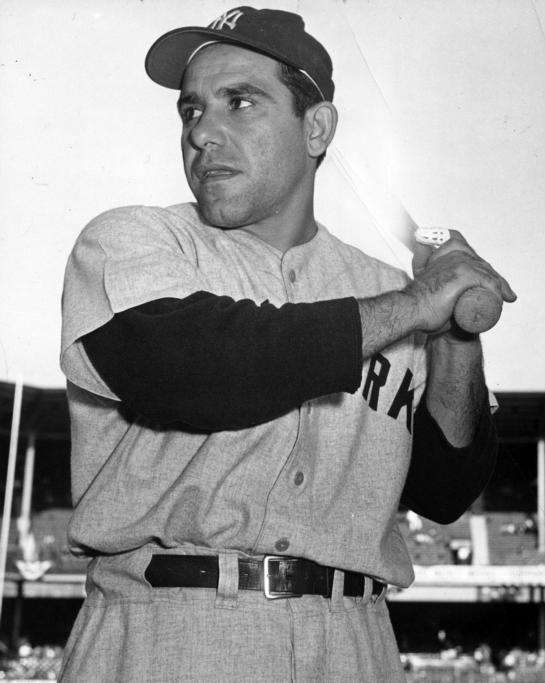 Catcher, outfield 1946-65About the only thing Berra fell