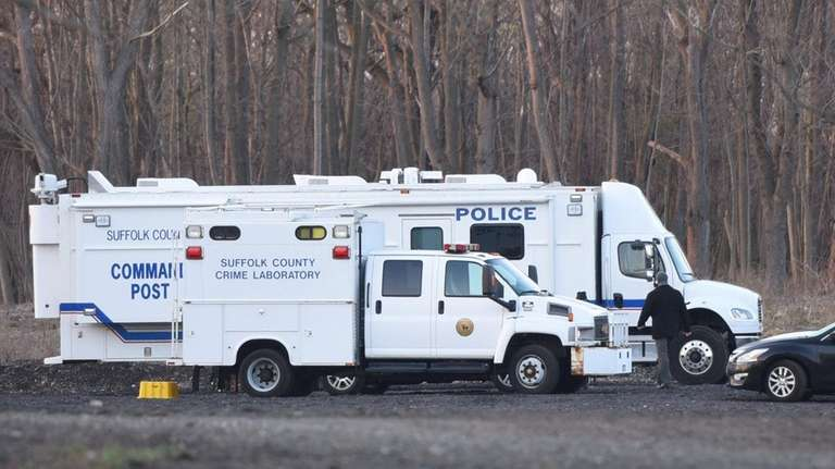 A mobile command for Suffolk County police is