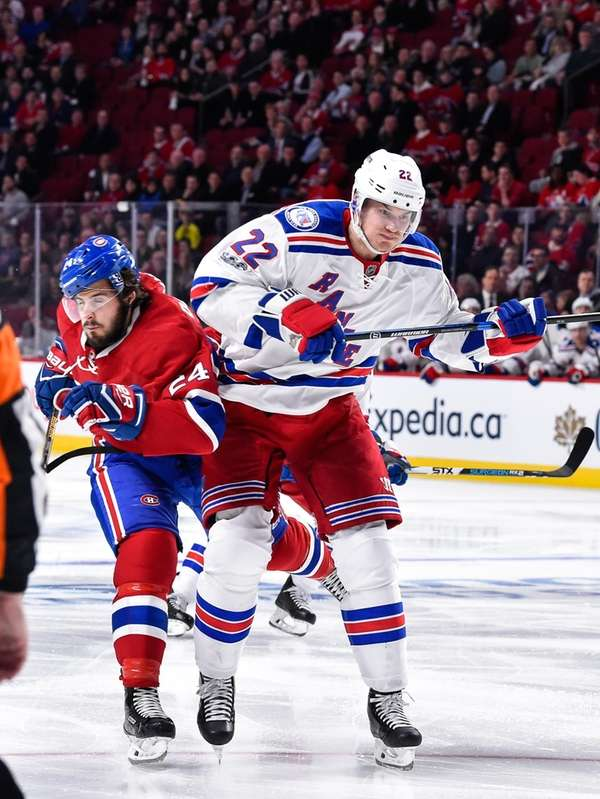 Phillip Danault of the Montreal Canadiens skates against