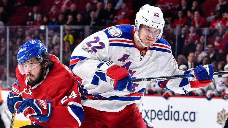 Phillip Danault of the Montreal Canadiens skates against