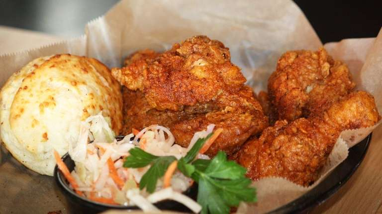 The fried chicken at Copper Pot Chicken Co.