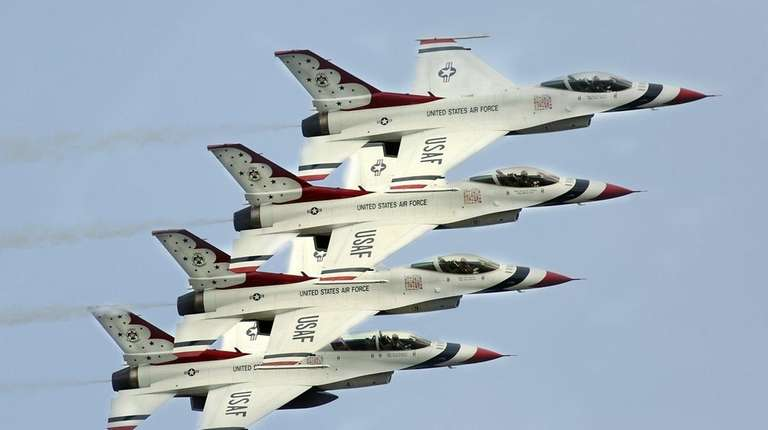 The 14th annual Bethpage Air Show at Jones