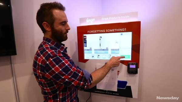 Vengo Labs, headquartered in Bethpage, makes high-tech vending