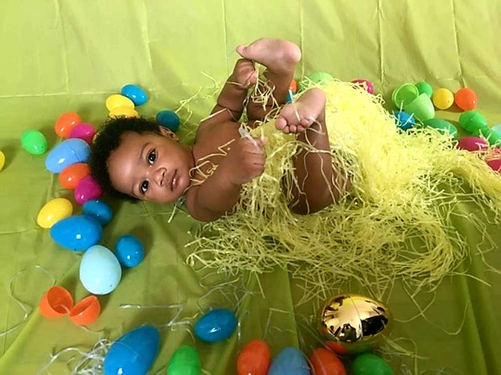 Jourdan's First Easter