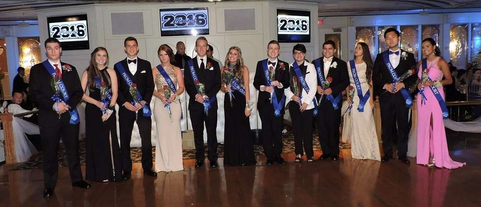 The 2016 prom court of Plainview-Old Bethpage John