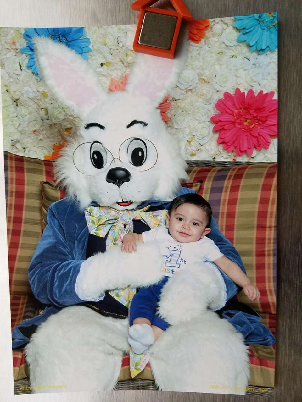 Lucas' first Easter