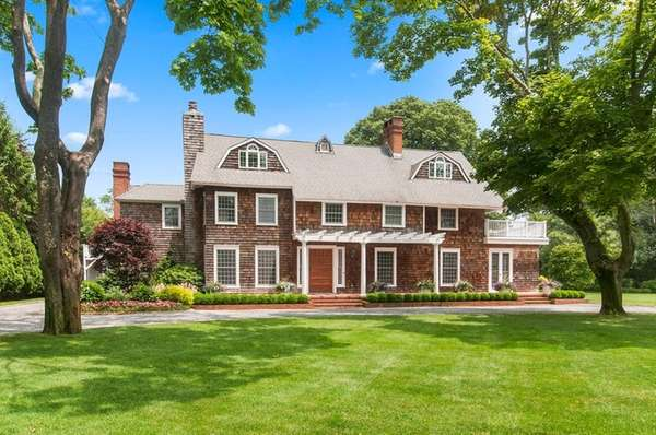 The 8,100-square-foot Westhampton Beach house has eight bedrooms.