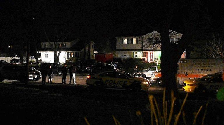 Two men broke into a home on Cinque