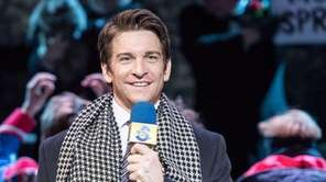 Andy Karl, who plays weather forecaster Phil Connors