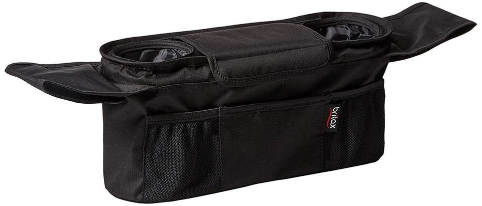 DETAILS: Center storage compartment with magnetic closure, two