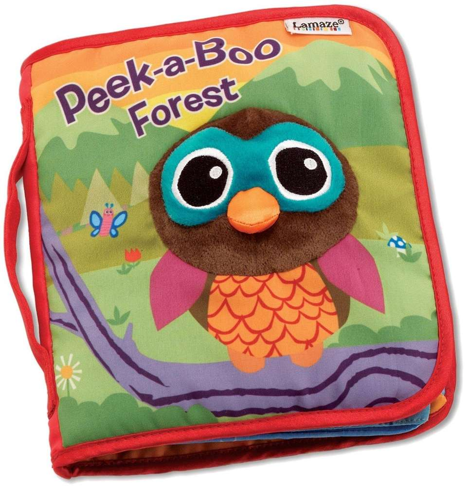 DETAILS: Six pages with rhymes, peek-a-boo flaps and