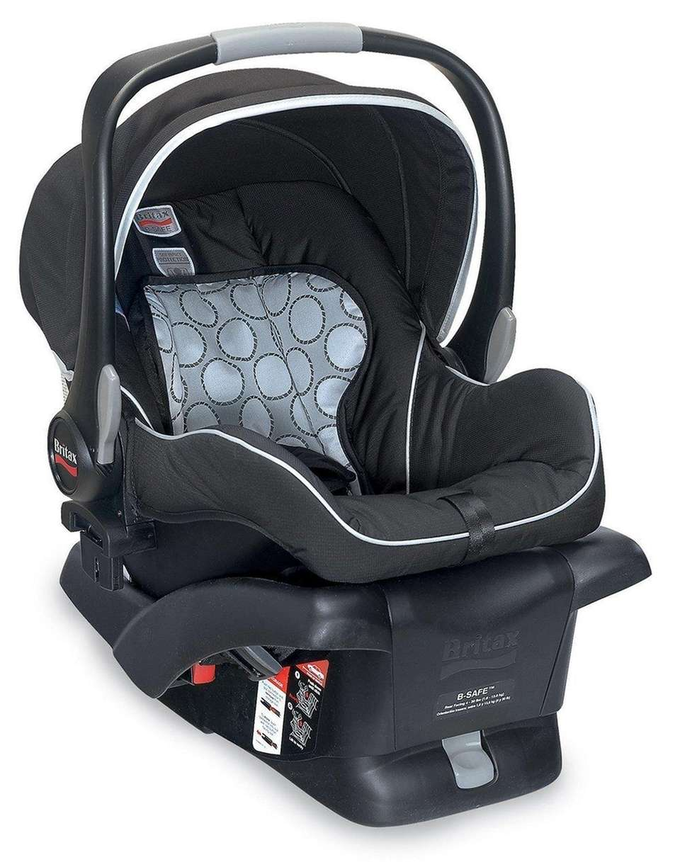DETAILS: Features tangle-free five-point harness, stroller compatible design
