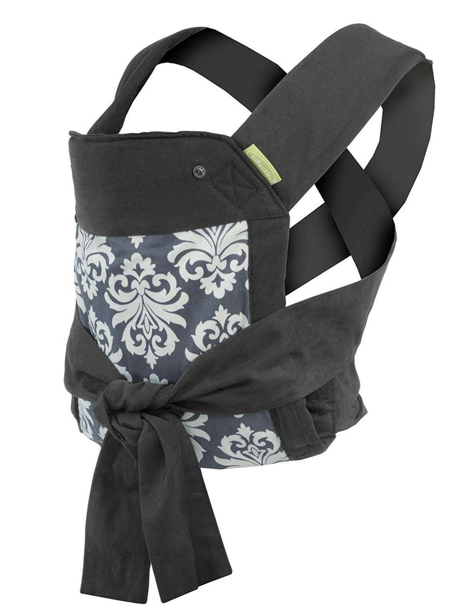 DETAILS: Features lumbar support, detachable hood, padded straps;