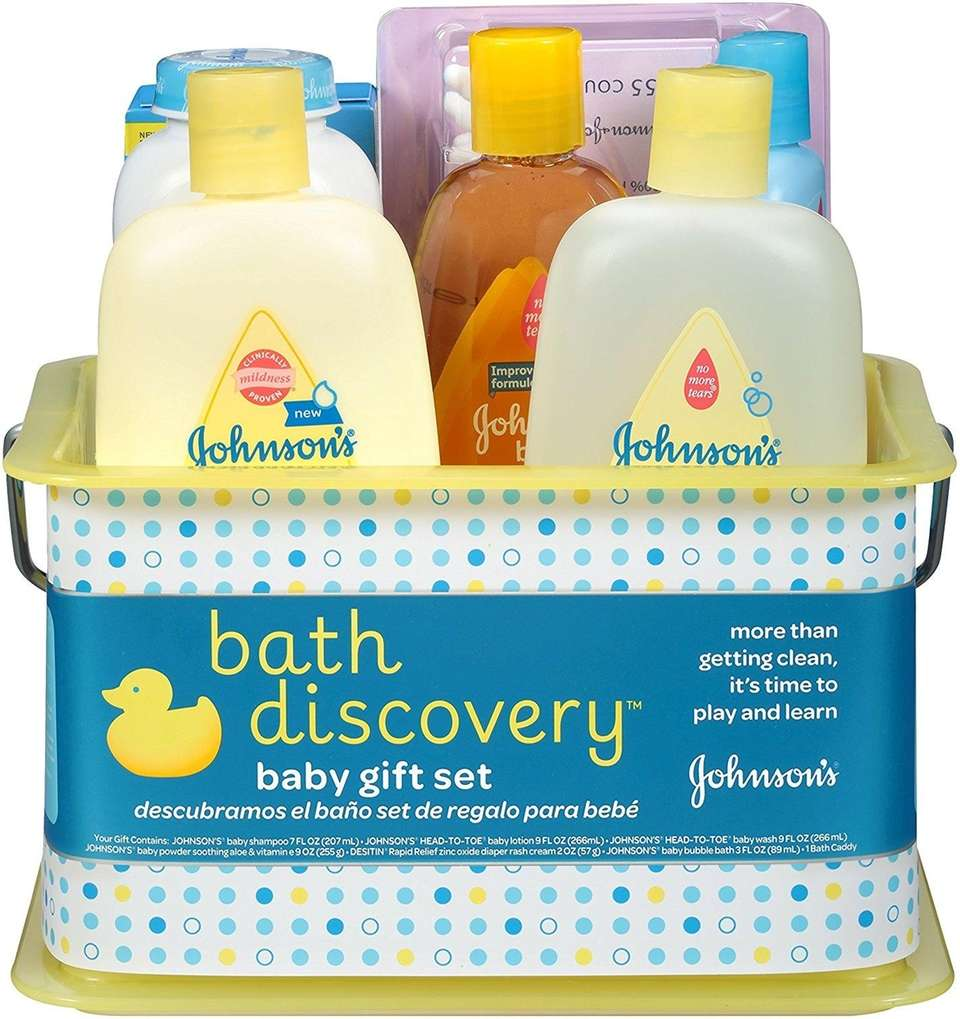 DETAILS: Features Johnson's brand baby shampoo (7 fl.