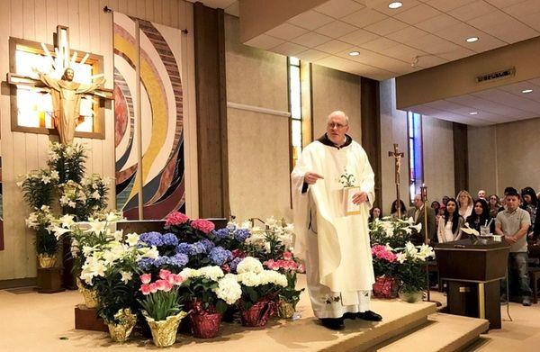 The Rev. Martin Curtin of St. Joseph the