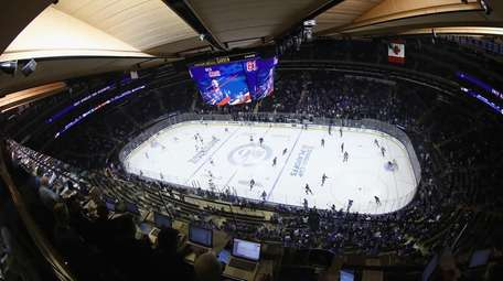 The New York Rangers and the Montreal Canadiens