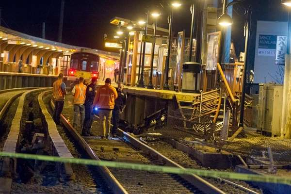 Long Island Rail Road crews investigate after a