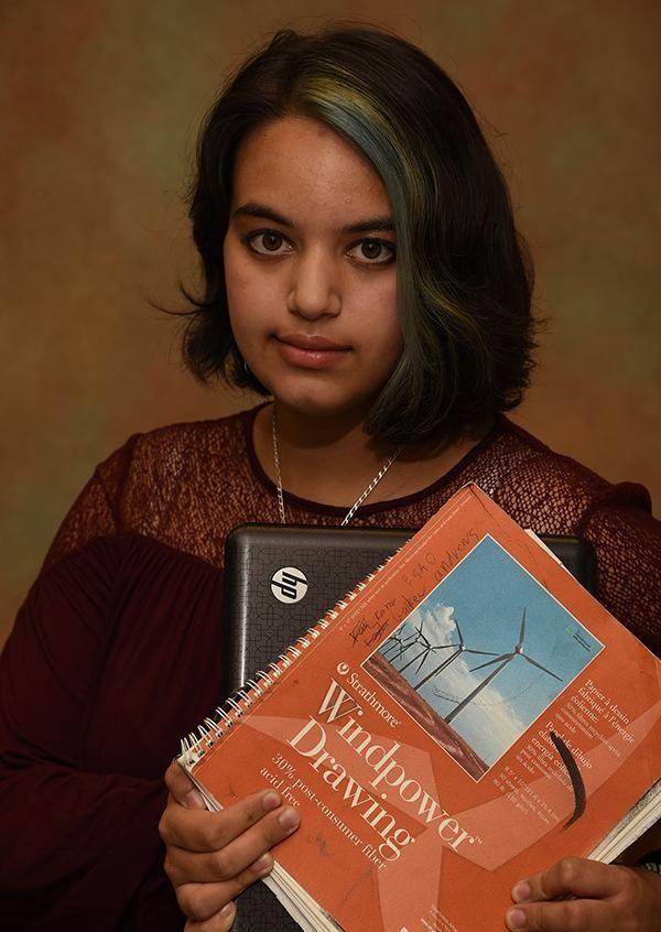 Tateana Khokar sees the world of art in