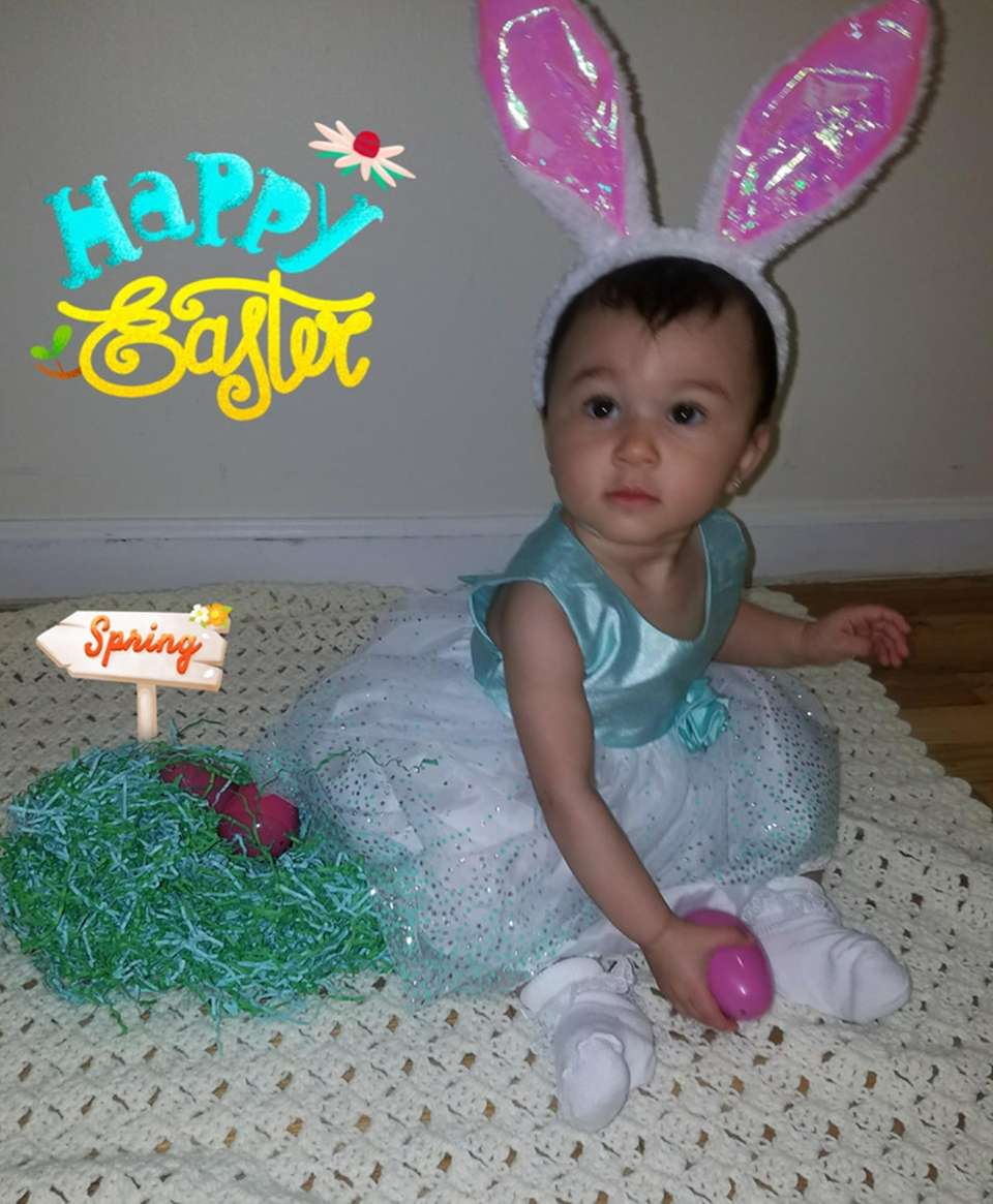 Isabella's First Easter