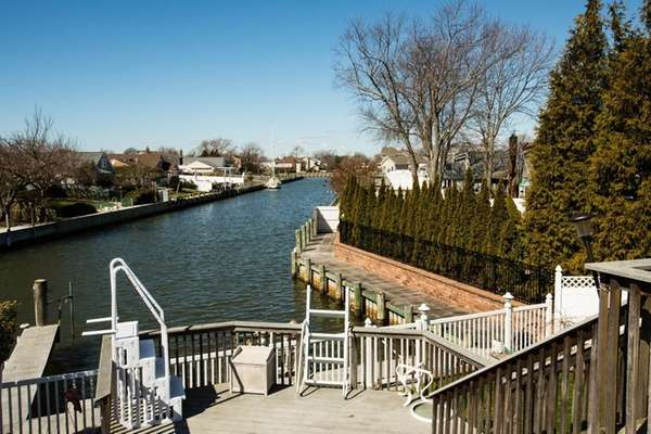 The four bedroom waterfront home for sale at