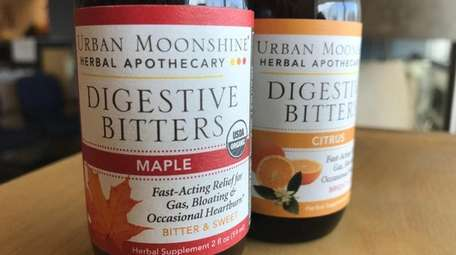 Digestive bitters should be taken 20 minutes before