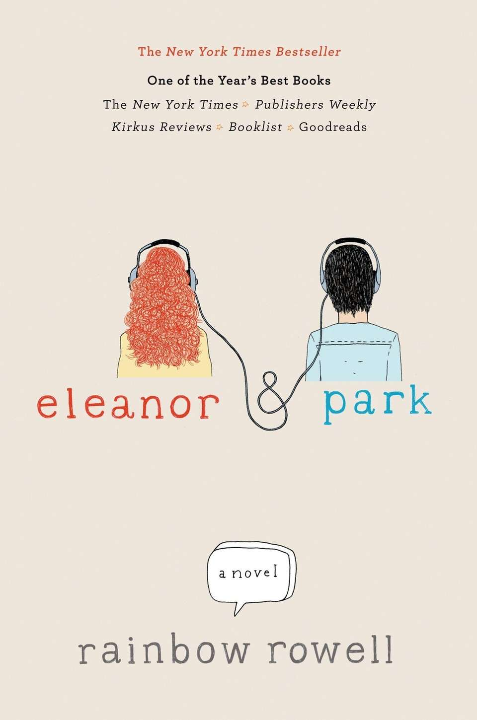 Rainbow Rowell's debut young adult novel,