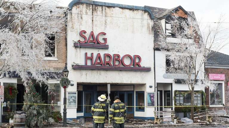 A fire on Dec. 16 ripped through part